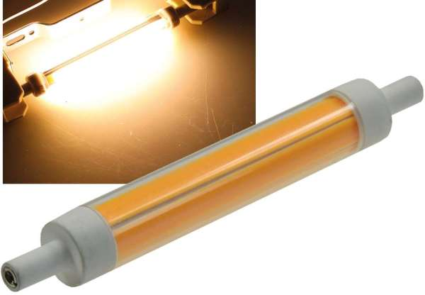 """LED Strahler R7s """"RS118 dimm """" dimmbar"""